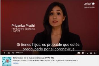 Cómo protegerse del coronavirus | UNICEF
